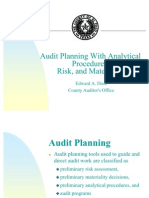 Audit Planning and Risk Assessment