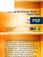 Meeting Energy Demand in Lagos