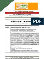 BUDAPEST ET LA HONGRIE - Package de voyage pour Groupes