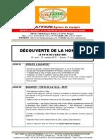 DÉCOUVERTE DE LA HONGRIE - Package de voyage pour Groupes