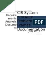 Problem Frames Analysis v1.0
