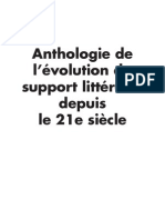 Anthologie de l'évolution du support littéraire depuis le 21e siècle (v2)
