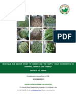 Vegetable Sub Sector Study in Darrang, Barpeta & Kamrup Districts in Assam