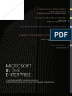 Microsoft Enterprise Customer Guide 2011