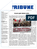 Tribune Avril - Mai - Juin 2010