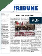 Tribune Avril - Mai - Juin 2010