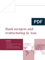 Bank Mergers and Restructuring in Asia