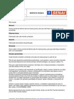 FABRICAÇÃO PAO FRANCES