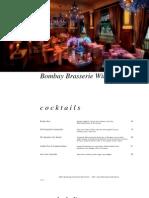 Bombay Brasserie Wine List 10 April 2011