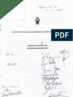 Contratto Collettivo Integrativo Decentrato FG 2005