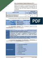 Programación y Actividades a Realizar UD 4