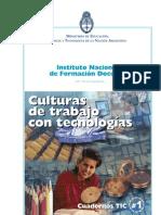 In.fo.D.-culturas de Trabajo Con Tecnologias