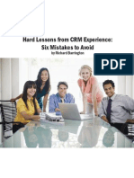 Hard Lessons From CRM