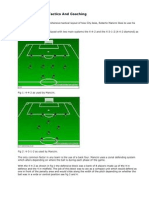 roberto mancini training-tactics