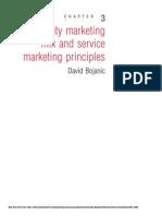 Chapter 3 Hospitality Marketing Mix and Service Marketing Principles
