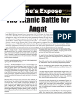 Battle for Angat - Sharholding in Phil