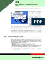 Envelope Analysis for Rolling Element Bearing