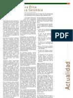Actualidad - Una Perspectiva Ética para una Nueva Colombia