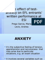 Test Anxiety by Prego Levio