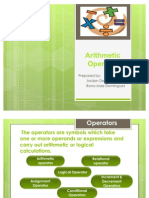 Arithmetic Operator Reviewer