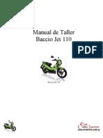 Baccio Jet 110 - Manual de Servicios