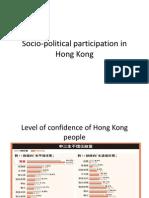 Socio-Political Participation in Hong Kong (1)