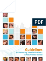 Guidelines for Mentoring Traveller Students in Post Primary School
