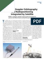 DORIS - Doppler Orbitography and Radio Positioning Integrated by Satellite