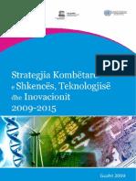 Strategjia Kombetare e Shkences Teknologjise e Inovacionit