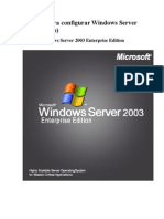 Tutorial Para Configurar Windows Server 2003