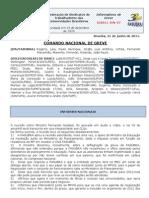 Informe 7 do Comando Nacional de Greve (21.jun.2011)