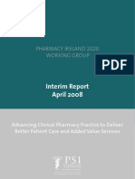 Interim Report of the Pharmacy Ireland 2020 Working Group