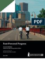Foot Powered Progress