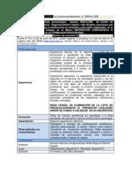 Ficha Convocatoria 999312-008 Como Atencion La Ciudadano Del Centro Segundo Semestre de 2011