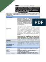 Ficha Convocatoria 999312-010 Como Auxiliar Deenfermeria Del Centrott Segundo Semestre de 2011