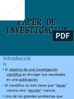 Como Hacer Un Paper