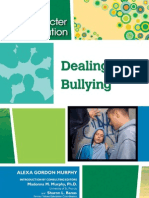 Character Education - Dealing With Bullying