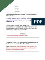 INTERPRETAÇÃO DE ALGUNS VERSICULOS   PARTE 1