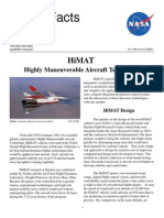 NASA Facts HiMAT Highly Maneuverable Aircraft Technology 1998