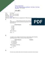 Quiz 7 Answers