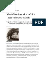 Nova Escola Maria Montessori