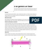 Como Se Genera Un Laser