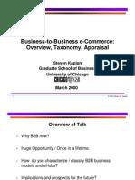 2000_B2B Ecommerce Taxonomy