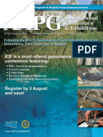 AAPG 2011 ICE Technical Program & Registration Annnouncement