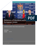 Relations of Moldova with the European Union