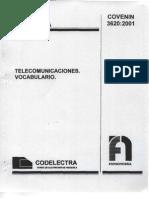 112 IE TELECOMUNICACIONES VOCABULARIO 3620-01