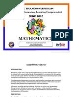 BEC PELC+2010+ +Mathematics