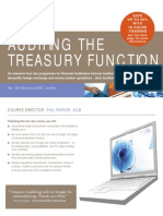 Auditing Treasury Functions Dec07