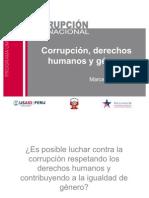 Derechos humanos, género y corrupción