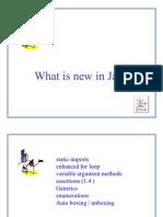 J2SE 5 Features